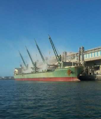 phosphate shipment, phosphate cargo, OCP