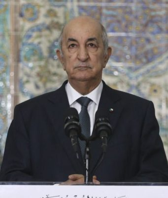 Algerian President Tebboune Arrives in Saudi Arabia on State Visit