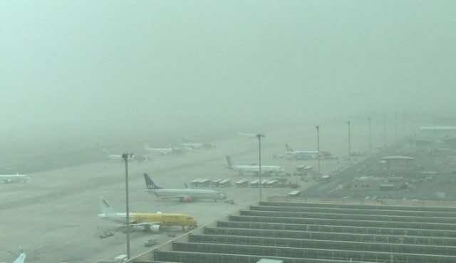 airplanes at Gran Canaria