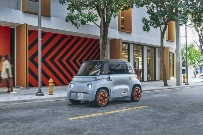 Citroen AMI Is A Tiny Electric Two-Seater That Will Impress You!