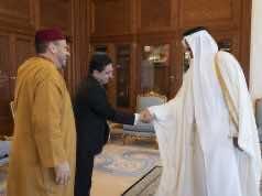 Emir of Qatar Receives Advisor to King Mohammed VI, Foreign Minister