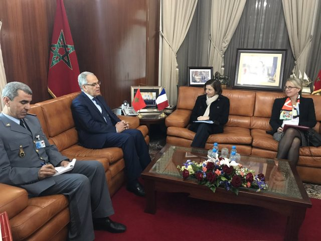 France Hopes to Improve Military Cooperation With Morocco