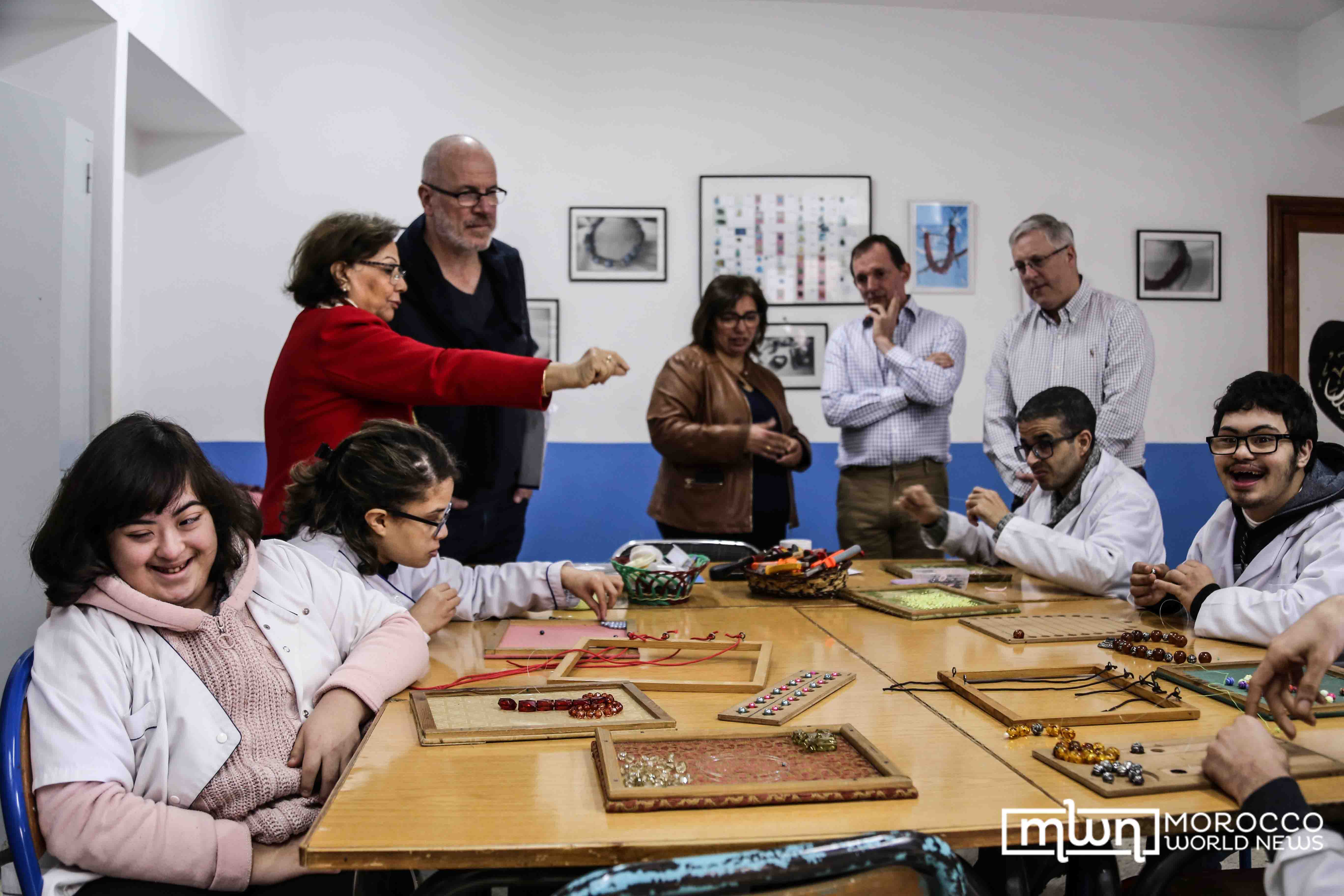 Chef Richard Bertinet Visits Morocco's Hadaf Association for People with Special Needs