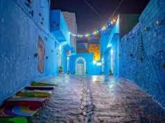 Iraqi Youth Paint Mosul Neighborhood Blue to Emulate Chefchaouen
