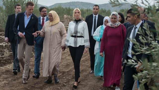 Ivanka Trump Commends Morocco's Efforts to Continue to Empower Women