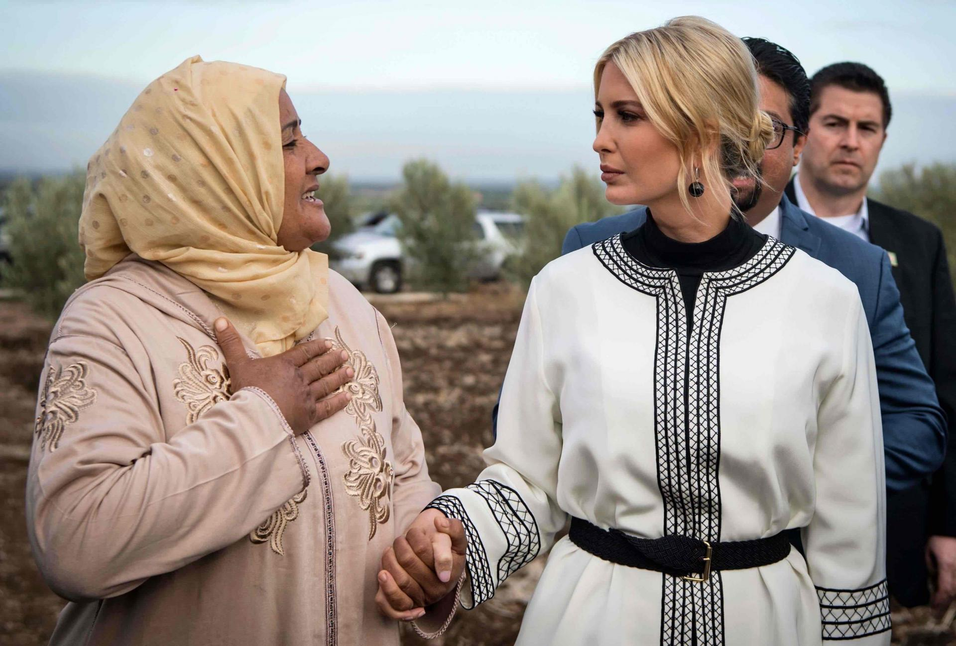 Ivanka Trump Praises Morocco Global Women's Forum