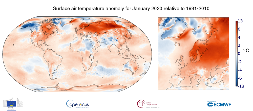 January 2020 Was the Hottest January in History