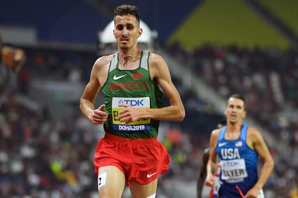 Moroccan Athlete El Bakkali Has Sights on Gold at 2020 Olympic Games