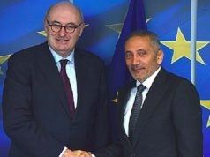 Moroccan Minister of Industry, Trade and Green and Digital Economy, Moulay Hafid Elalamy, met with the European Commissioner for Trade, Phil Hogan