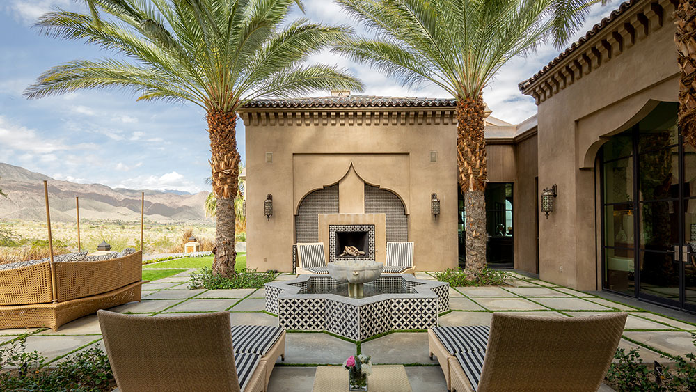 In Photos: $16 Million Mansion Brings Moroccan Magic to California