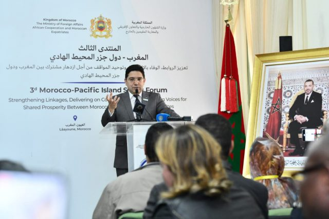 Morocco Cooperation With Pacific Island States Will Be Tangible