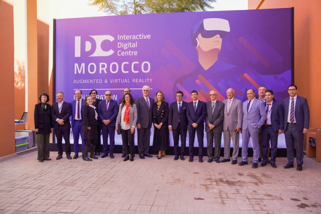 Morocco Launches First Interactive Digital Center North Africa