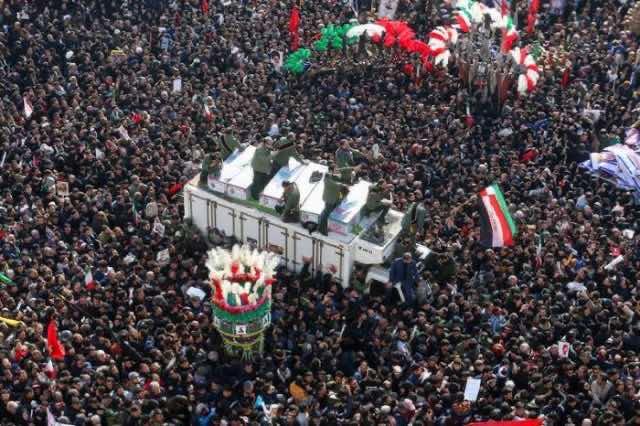 Iranian Qassem soleimani killed by US