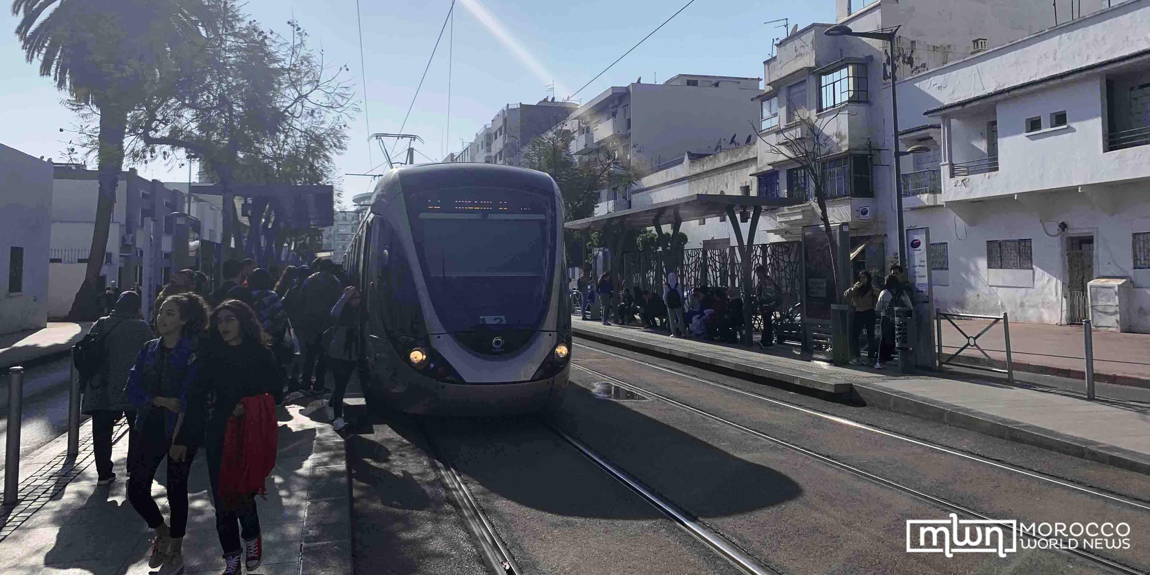 line 2 tram Rabat