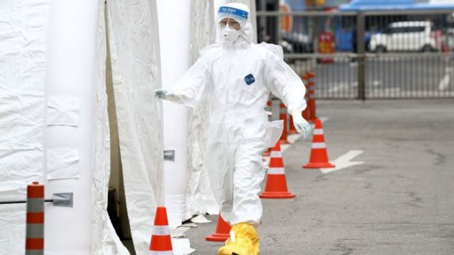 coronavirus protective gear south korea
