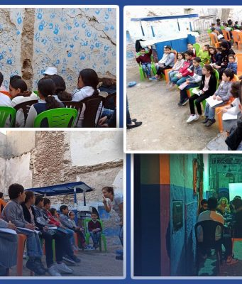 The English Street School A Classroom With No Roof and No Limits