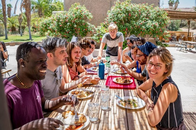 Environmental Institute Promotes Israeli-Palestinian Dialogue in Kibbutz