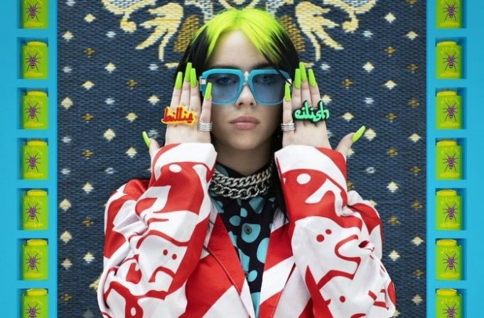 Billie Eilish Styles Wydad Jacket, Arabic-Inspired Rings in Vogue Shoot