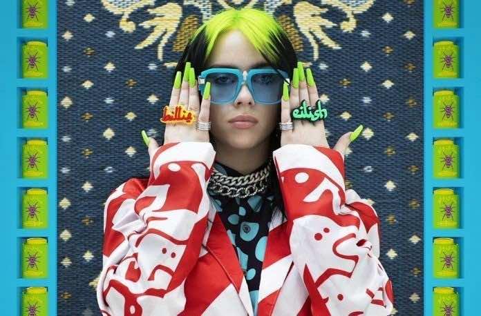 Billie Eilish Styles Wydad Jacket, Arabic-Inspired Rings in Vogue Shoot