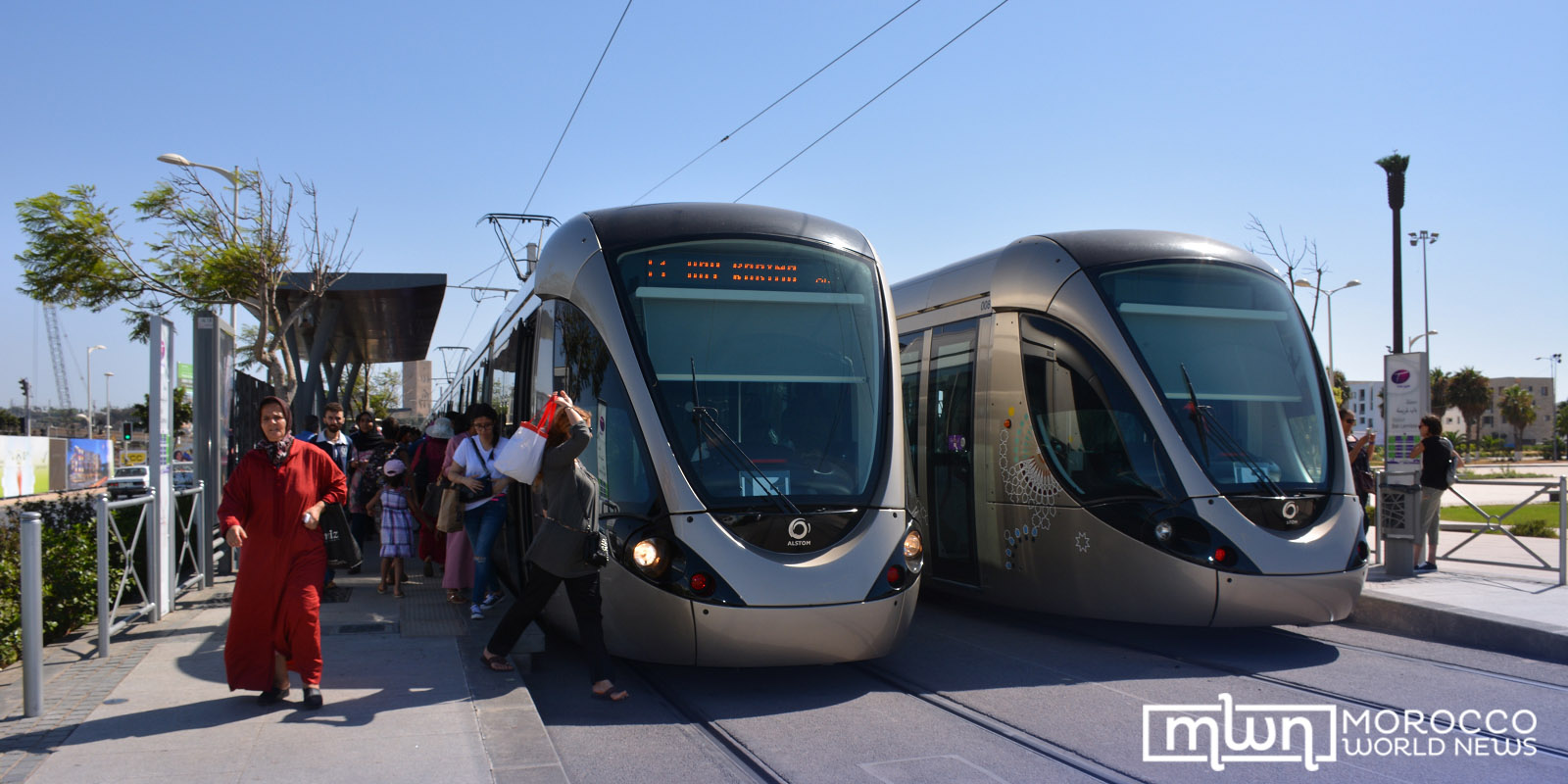 trams in Rabat