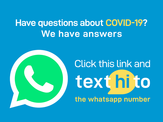 COVID-19: World Health Organization Launches WhatsApp Health Alert Service