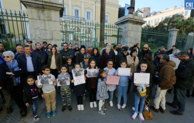 Demonstrators in France Denounce Expulsion of Moroccan Family from Ajaccio