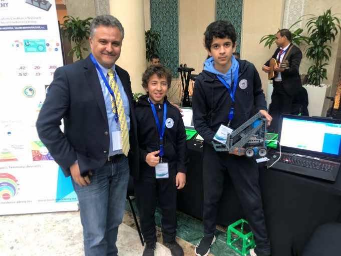 Boy Genius Idder Moutia to Represent Morocco at US Robotics Competition