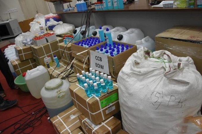 COVID-19: Moroccan Authorities Seize Fake Disinfectants