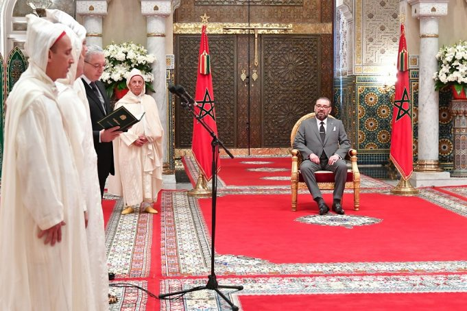 King Mohammed VI Receives Newly-Appointed Constitutional Court Judges