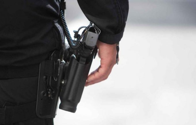 Police Inspector Withdraws Weapon to Arrest State of Emergency Offender