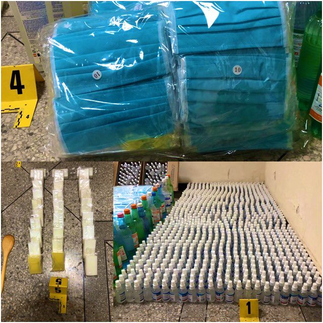 Police Arrest 2 in Fez for Manufacturing Fake Disinfectant
