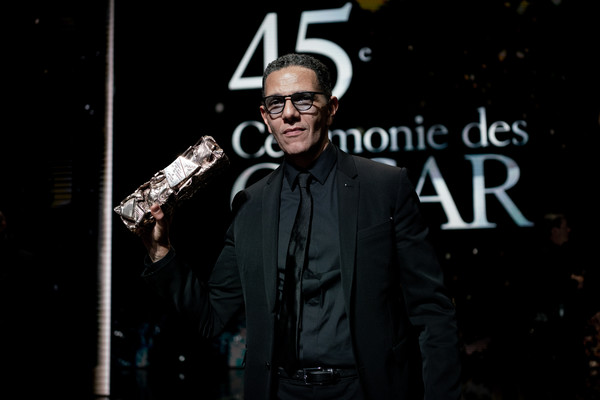 Moroccan-French Actor Roschdy Zem at the 45th Cesar awards