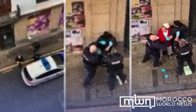 Spanish Police Beat Moroccan Man and His Mother With Baton