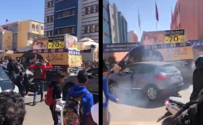 Truck Driver Attempts to Run Over Students in Marrakech
