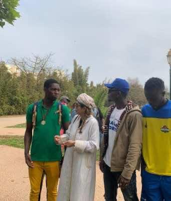 Former Vietnamese Refugee Visits Morocco to Bring Migrants Hope
