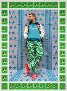 Moroccan References Abound in Hassan Hajjaj's Vanity Fair Spread