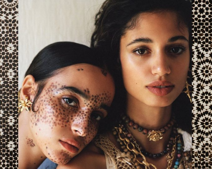British Vogue Spotlights Moroccan Models in Bohemian Marrakech Shoot