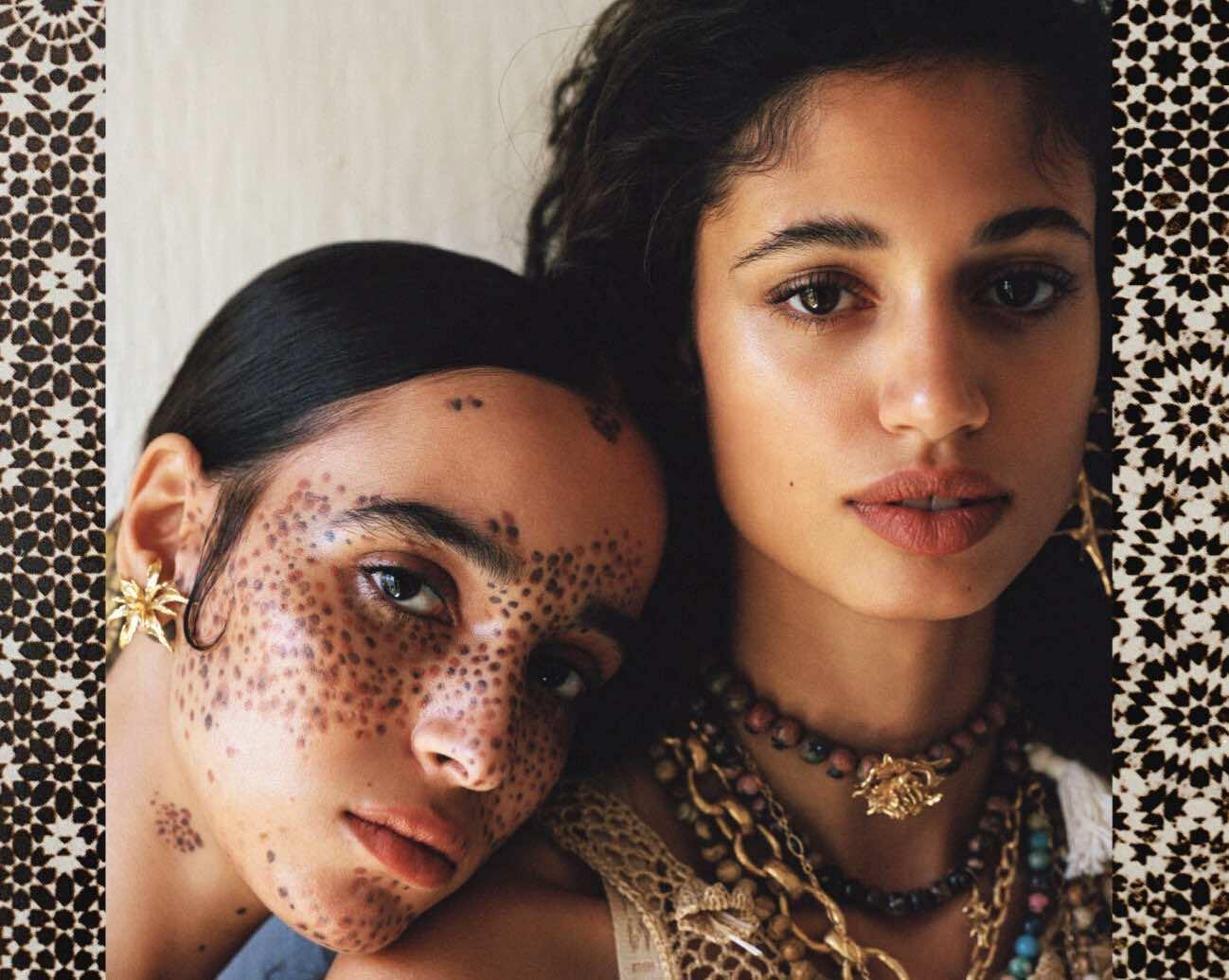 British Vogue Spotlights Moroccan Models in Bohemian Marrakech Shoot