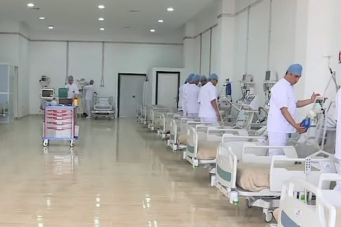 COVID-19 Moroccan Military Builds Field Hospital in Record Time