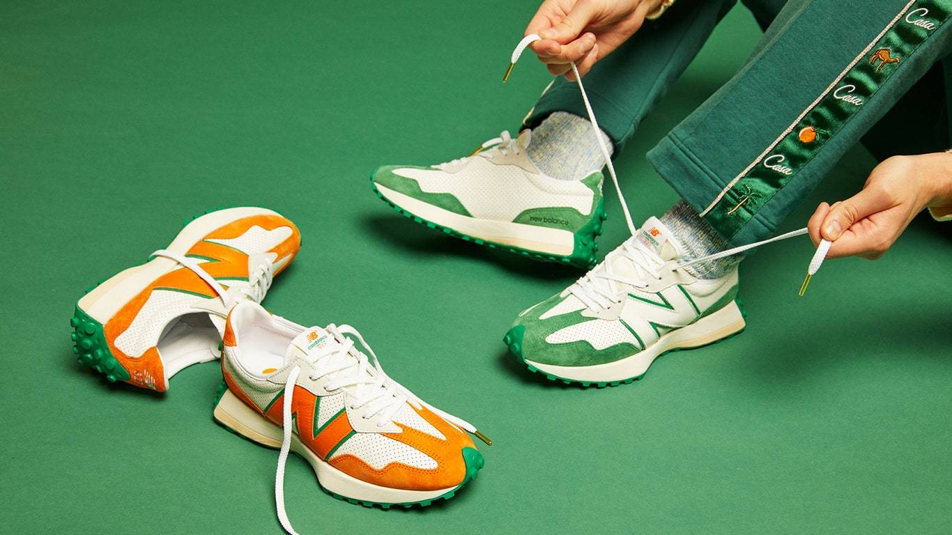 New Balance Collaborates With Charaf Tajer on Moroccan Footwear Line