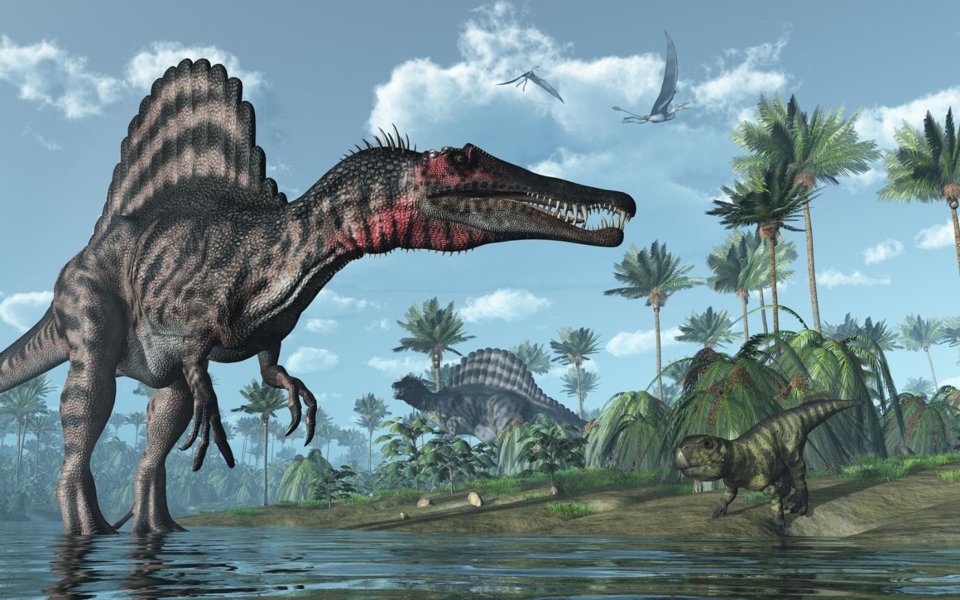 Fossil Discovery in Morocco Reveals Ancient African River Monster