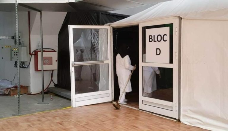 Largest COVID-19 Field Hospital Goes Operational in Casablanca