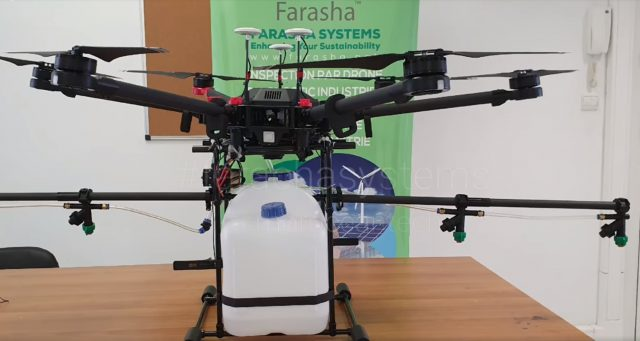 Moroccan Startup Uses Drones Designed to Disinfect Streets From COVID-19