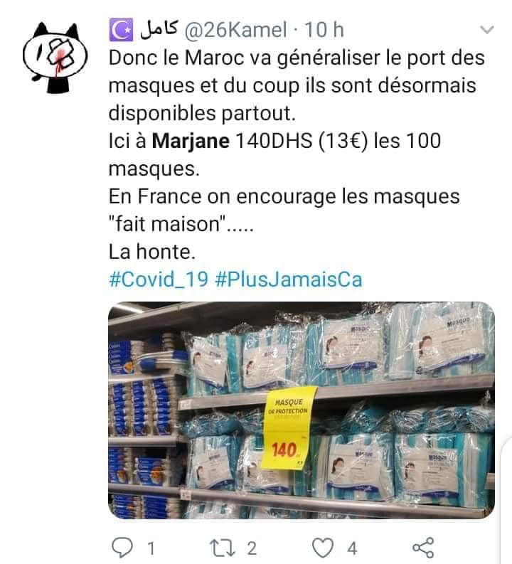 Morocco's COVID-19 Response Leaves French Social Media Awe