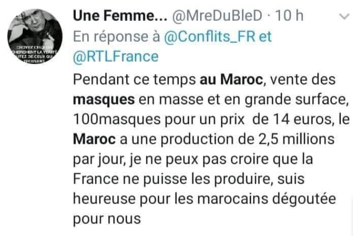 Morocco COVID-19 Response Leaves French Social Media in Awe