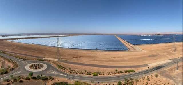 Morocco solar energy renewable energy
