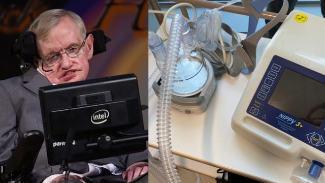 Stephen Hawking's Family Donates His Ventilator for COVID-19 Treatment