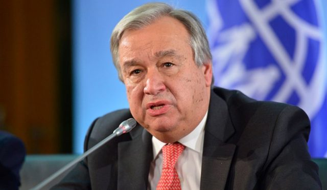 UN Secretary General: COVID-19 Threatens Global Security