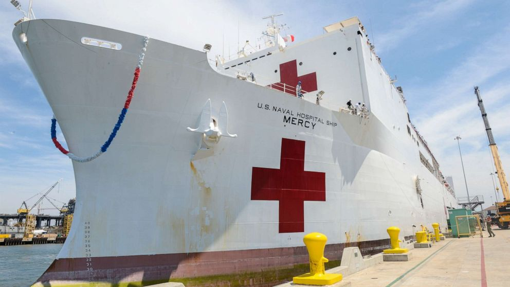 LA engineer derailed train near USNS Mercy over 'conspiracy theory'