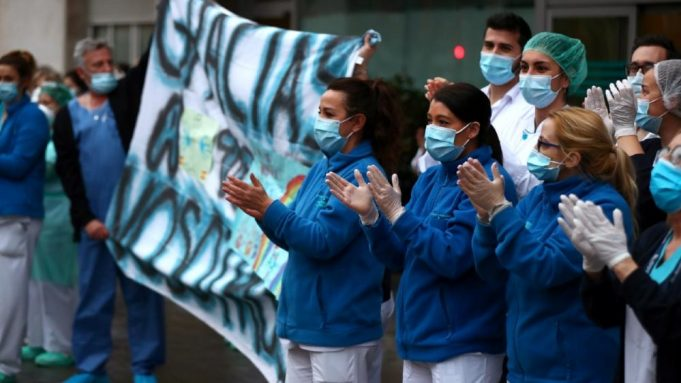 Spain Moves to Protect Medical Workers Amid Decline in COVID-19 Cases